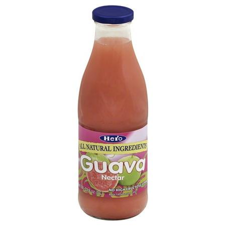 Hero All Natural Guava Nectar Juice  33 8 Fl Oz