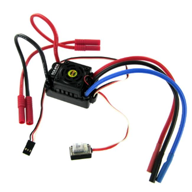 REDCAT HW-WP-SC8-RTR Hobbywing Brushless ESC 80A With Ban...