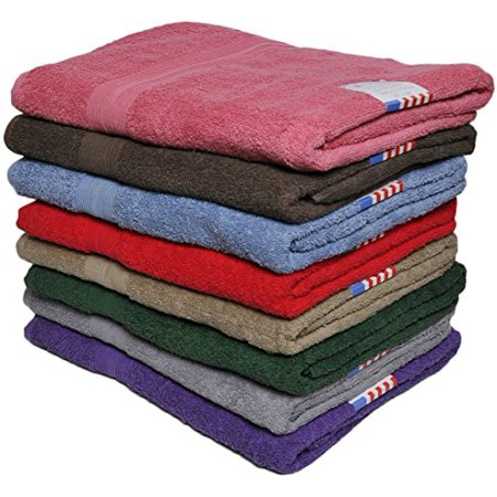 """Ruthy's Textile Luxury Bath Sheet Towel 36"""" X 68"""" 100% Cotton Extra Large Beach, Pool, Bath Towels, Soft and Highly Absorbent Towels (6 Piece)"""