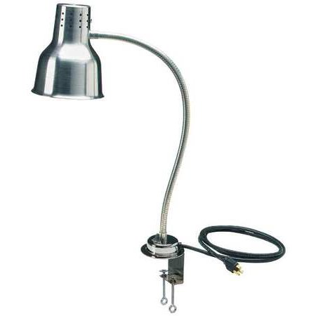 CARLISLE HL8185C00 Heat Lamp w/Clamp,1 Bulb