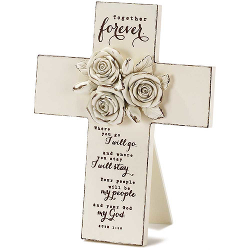 Dicksons Inc Together Forever Table top Cross
