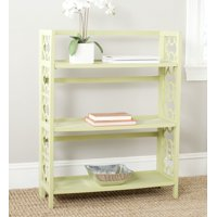 Safavieh Natalie Geometric Rustic 3 Tier Low Bookcase