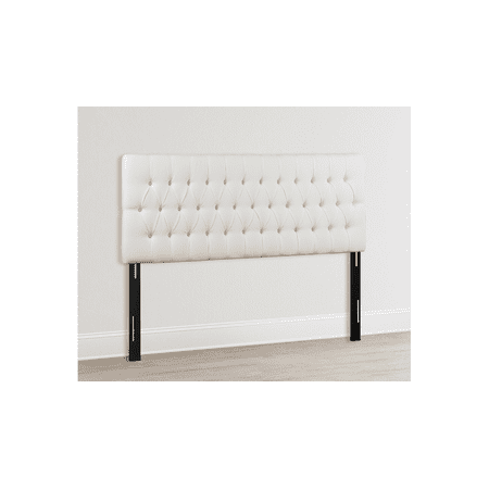 Maya Tufted Headboard, Antique White