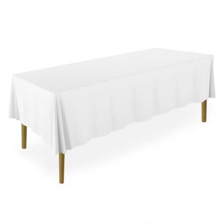 Lann's Linens - 20 Premium Tablecloths for Wedding / Banquet / Restaurant - Rectangular Polyester Fabric Table Cloths (Multiple Colors & Sizes)