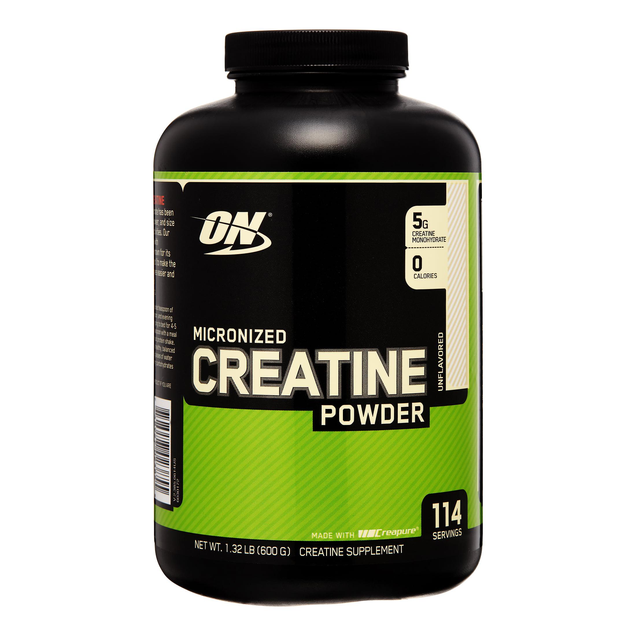 Optimum Nutrition Micronized Creatine Powder, 114 Servings