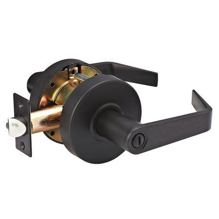 Lever Lockset,Mechanical,SLC Angled MASTER LOCK SLCHPV10B