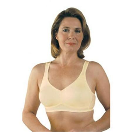 classique 783e post mastectomy fashion bra, ivory - size 34c (34c Lingerie)