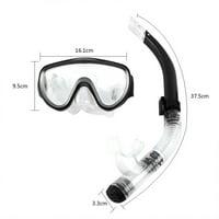 Product Image Estink Adjustable Snorkeling Set for Adults Resistant Tempered Glass Lens Diving Mask Snorkel Mouthpiece Snorkeling Combo