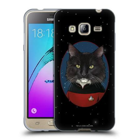 OFFICIAL STAR TREK CATS TNG SOFT GEL CASE FOR SAMSUNG PHONES 3 ()