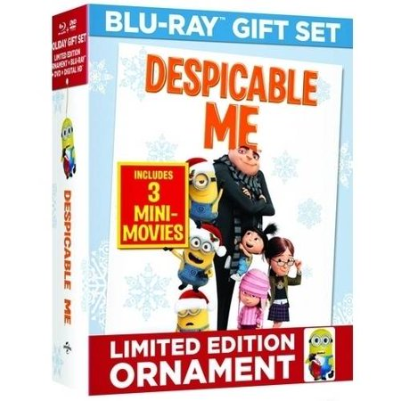 Despicable Me  Limited Edition   Blu Ray   Dvd   Digital Hd   Dave Minion Ornament   With Instawatch   Widescreen
