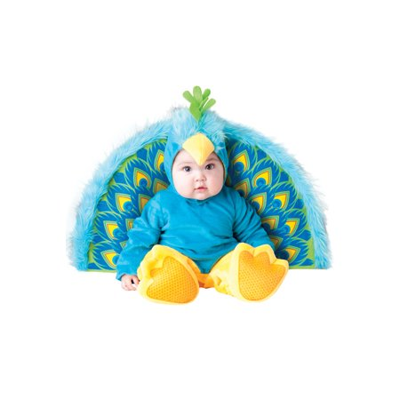 Precious Peacock Infant/Toddler - Womens Peacock Costume