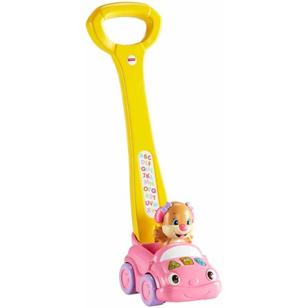 Fisher Price Sis Smart Stages Push Car