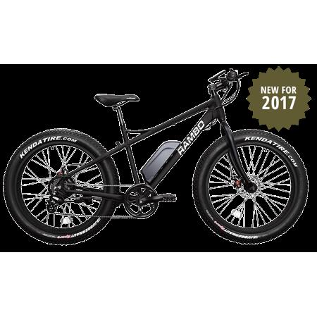 Rambo Bikes R500 Fat Tire Electric Bike