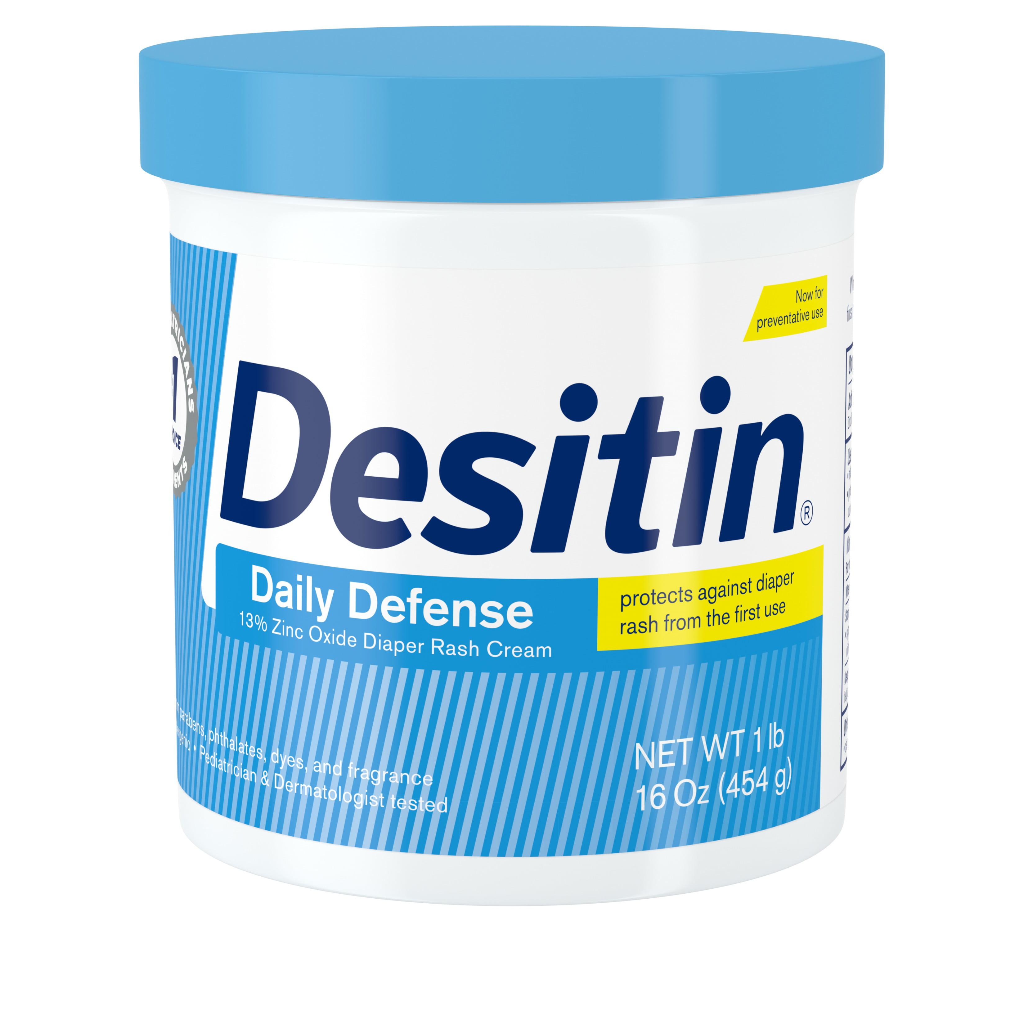 Desitin Daily Defense Baby Diaper Rash Cream With Zinc