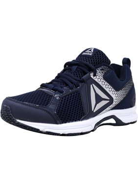 45f212a161f Product Image Reebok Men's Runner 2.0 Mt Navy / Electric Flash Silver  Ankle-High Running Shoe -