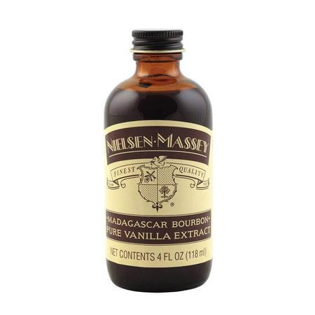 Nielsen-Massey Madagascar Bourbon Pure Vanilla Extract, 4 FL OZ