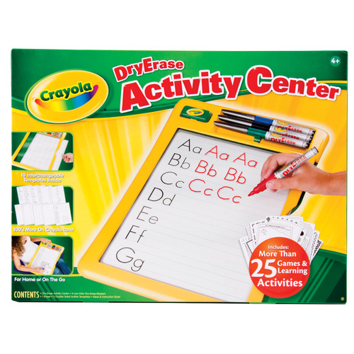 Crayola Dry Erase Activity Center by Crayola