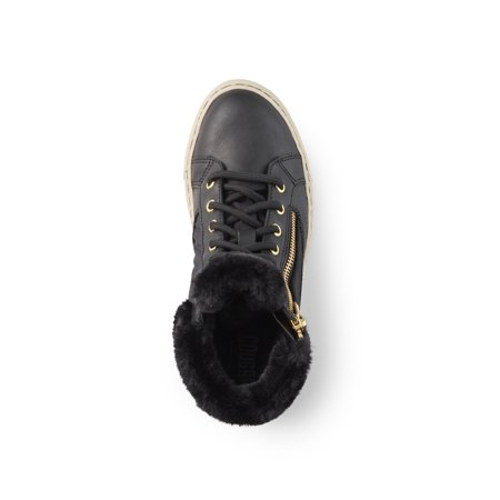 Cougar Girls' Dublin-G Ankle High Sneaker in Black - image 1 de 5