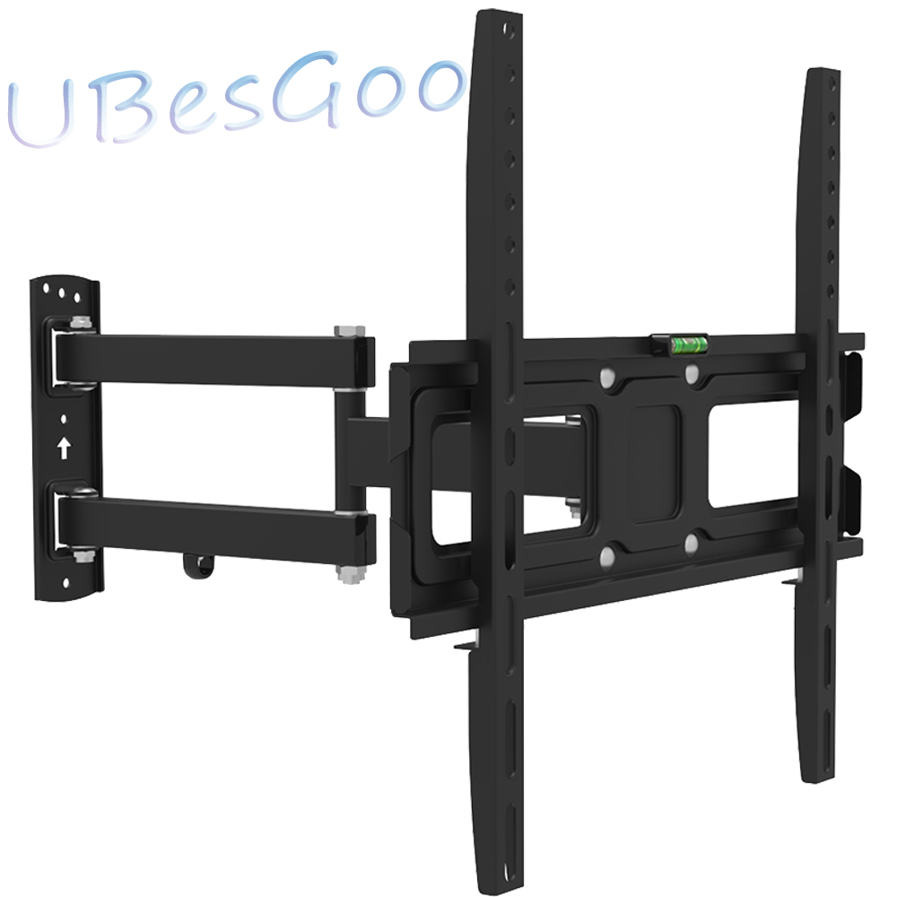 "UBesGoo TV Wall Mount Bracket Swivel 32-50"" TV Stand VESE 400*400 Tilt 22°55 lbs Black"