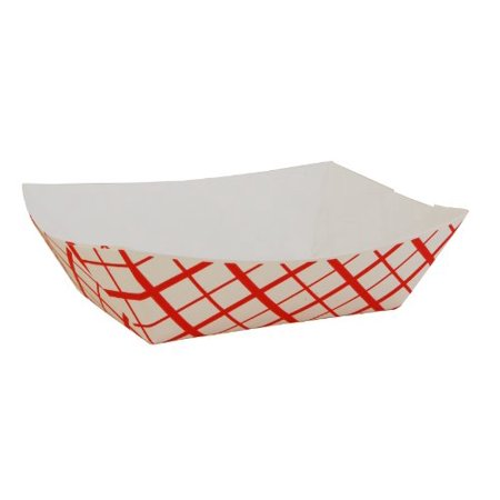 Southern Champion Tray SCH0413 Paper Food Baskets, 1lb, Red/white, 1000/carton](Paper Food Trays Walmart)