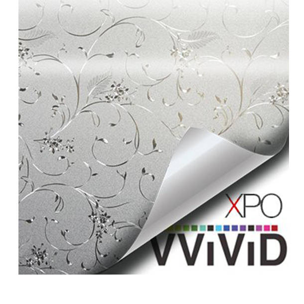 Twining Flower Vine Floral Theme Privacy Window Decal Contact Paper Sticker Decorative Film Wrap VViViD - Choose Your Size