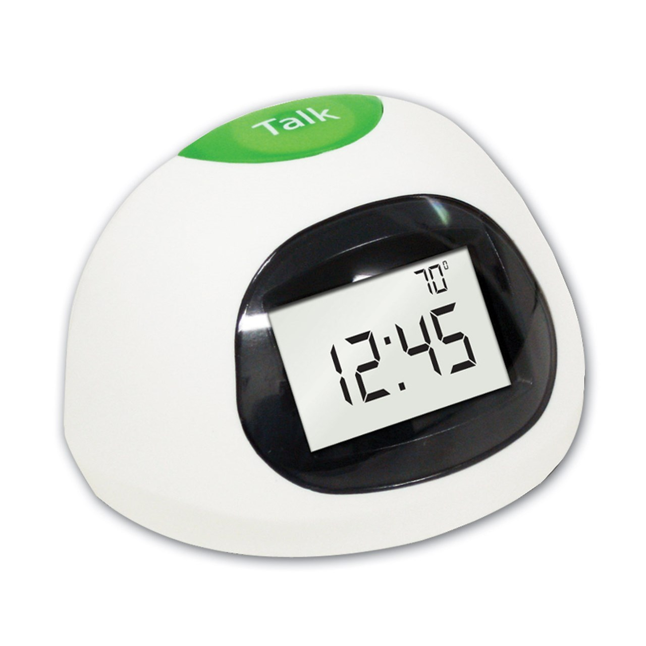 Talking Time and Temp Desktop Clock