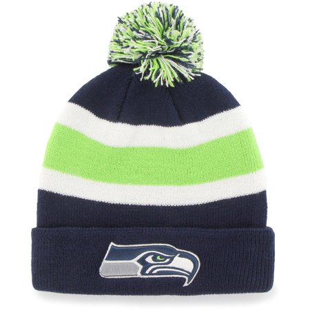 Fan Favorite - Breakaway Beanie with Pom, Seattle Seahawks](Seattle Seahawks Gear)