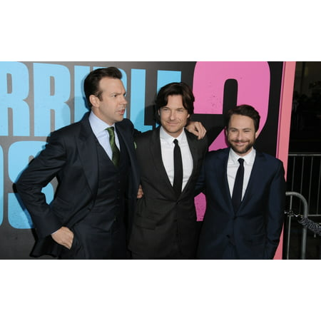 Photo Horrible D'halloween (Jason Sudeikis Jason Bateman Charlie Day At Arrivals For Horrible Bosses 2 Premiere Tcl Chinese Theatre Hollywood Ca November 20 2014 Photo By Dee CerconeEverett Collection)