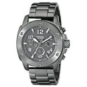 Fossil Men's Modern Machine FS5017 Gunmetal Stainless Steel Quartz Watch