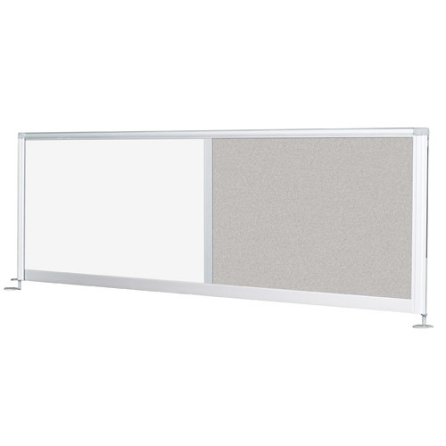 Balt iFlex 17'' H Desk Privacy Panel by Best Rite