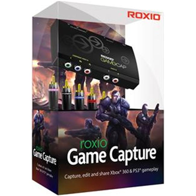 Roxio Inc 248400 Game Capture - Xbox 360-Ps3