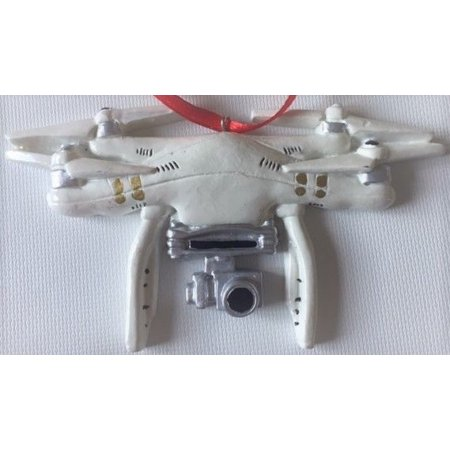 Drone Christmas Tree Ornament Holiday Gift Unique Present or Stocking Stuffer