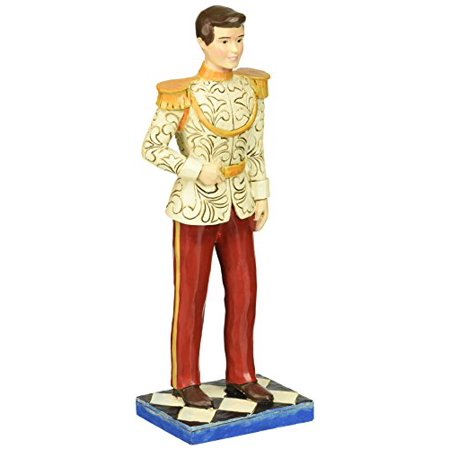 """Department 56 Disney Traditions by Jim Shore Cinderella 65th Anniversary Prince Charming Stone Resin Figurine 7.5"""" - image 1 of 1"""