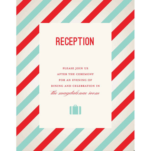Sophisticated Travel Deluxe All Purpose Card