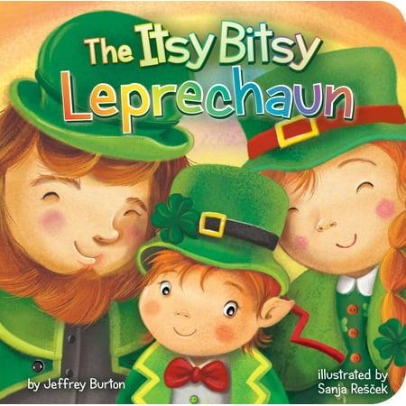 Itsy Bitsy Leprechaun (Board Book)