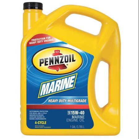 Pennzoil 550022734 Marine 4 Cycle Oil 1 Gal 15w 40 Bottle