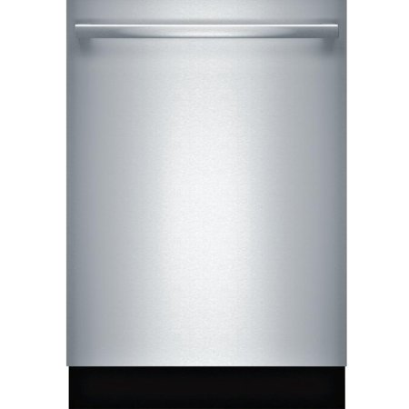 Bosch SHX863WD5N 24 300 Series Built-In Fully Integrated Dishwasher W/ Bar Handle 16 Place Settings 5 Cycles 5 Options 44 dBA Noise Level Standard 3rd Rack RackMatic and Aquastop in Stainless Steel