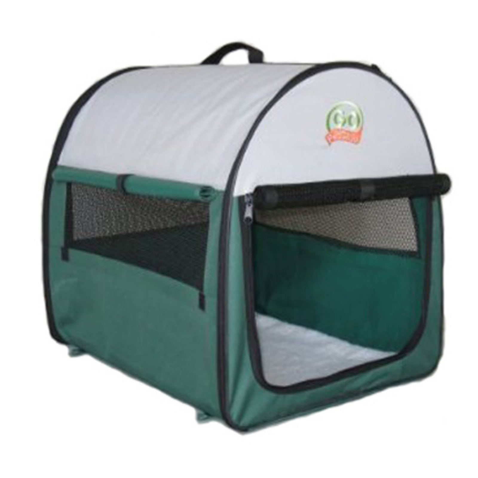 Go Pet Club Soft Pet Crate - Green