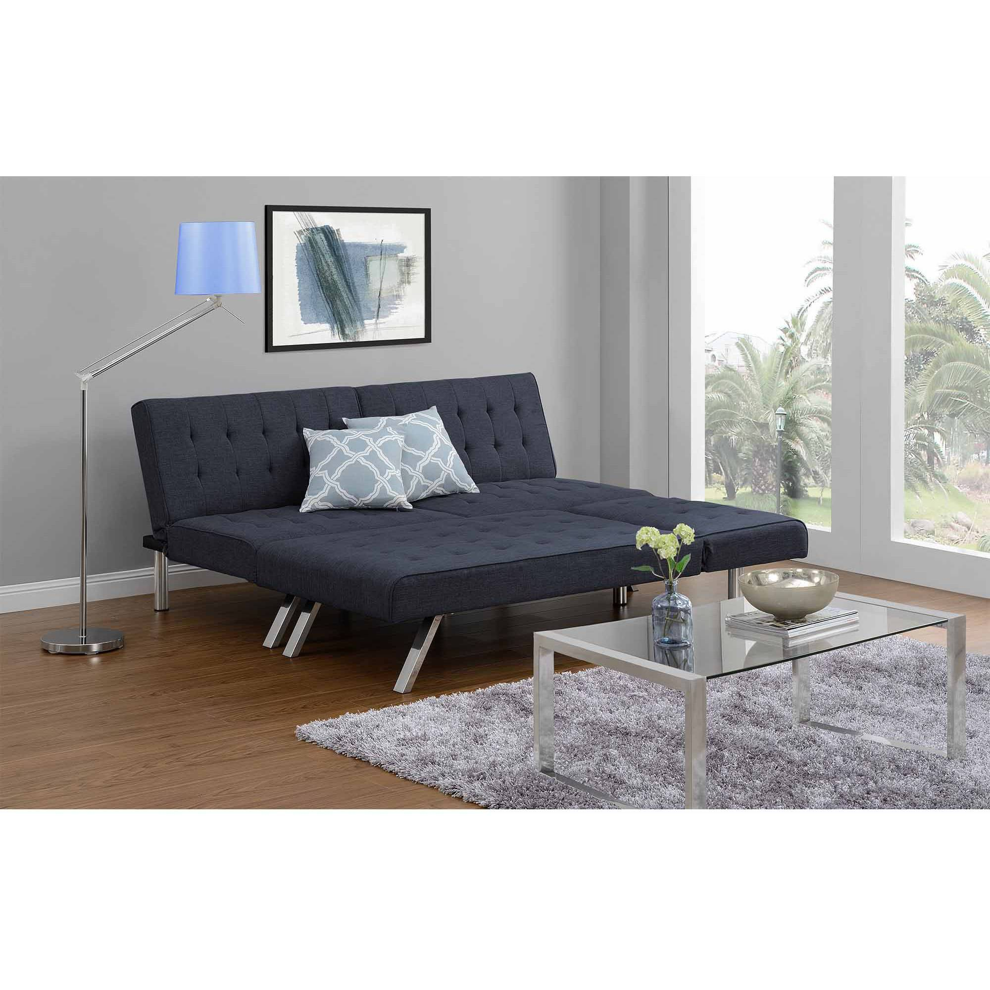 Emily Convertible Futon Multiple Colors Com