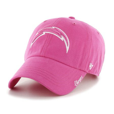 Women's Miata 47 Brand Clean Up Los Angeles Chargers Pink Hat - 47 Brand Blank Hats