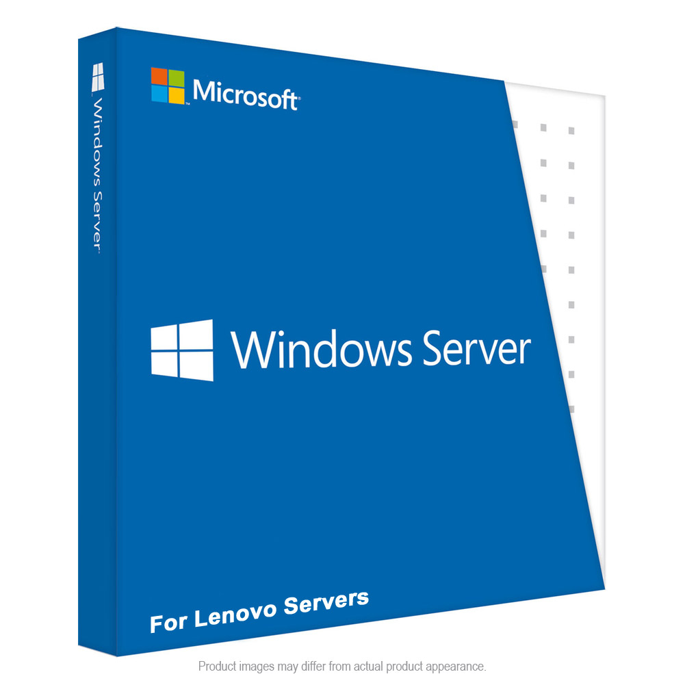 Lenovo Microsoft Windows Server 2012 R2 Standard ROK - 2 Virtual Machine, 2 CPU