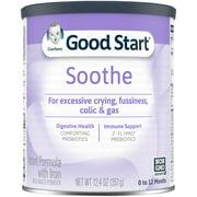 Gerber Good Start SoothePro Powder Infant Formula, Stage 1, 12.4 oz Can, 6 Count