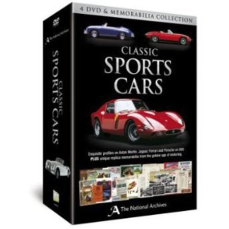 Classic Sports Cars Memorabilia Set