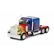 T1 Optimus Prime Truck, Transformers - Jada 30877DP1 - 1/32 scale Diecast Model Toy Car (Brand New but NO BOX)