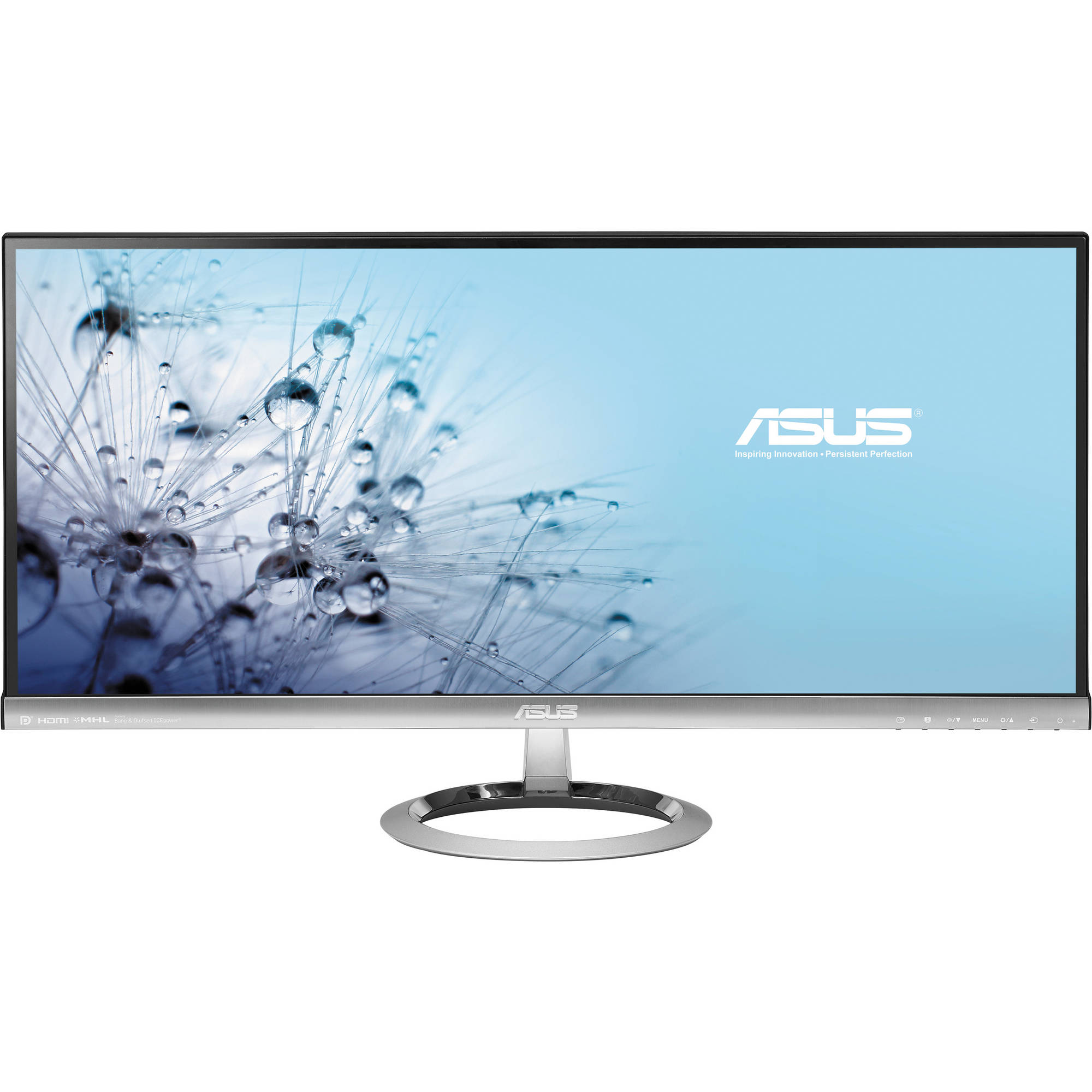 Refurbished - Asus MX299Q 29 IPS LED Backlit Monitor 2560x1080 5ms 0.8mm Bezel Thickness