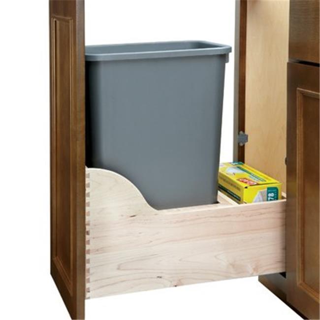 Rev A Shelf Rs4Wcsc. 1535Dm. 1 35Qt Single Waste Unit With Tandem Soft Close
