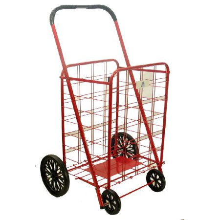 Trimmer Extra Large Shopping Cart, Red