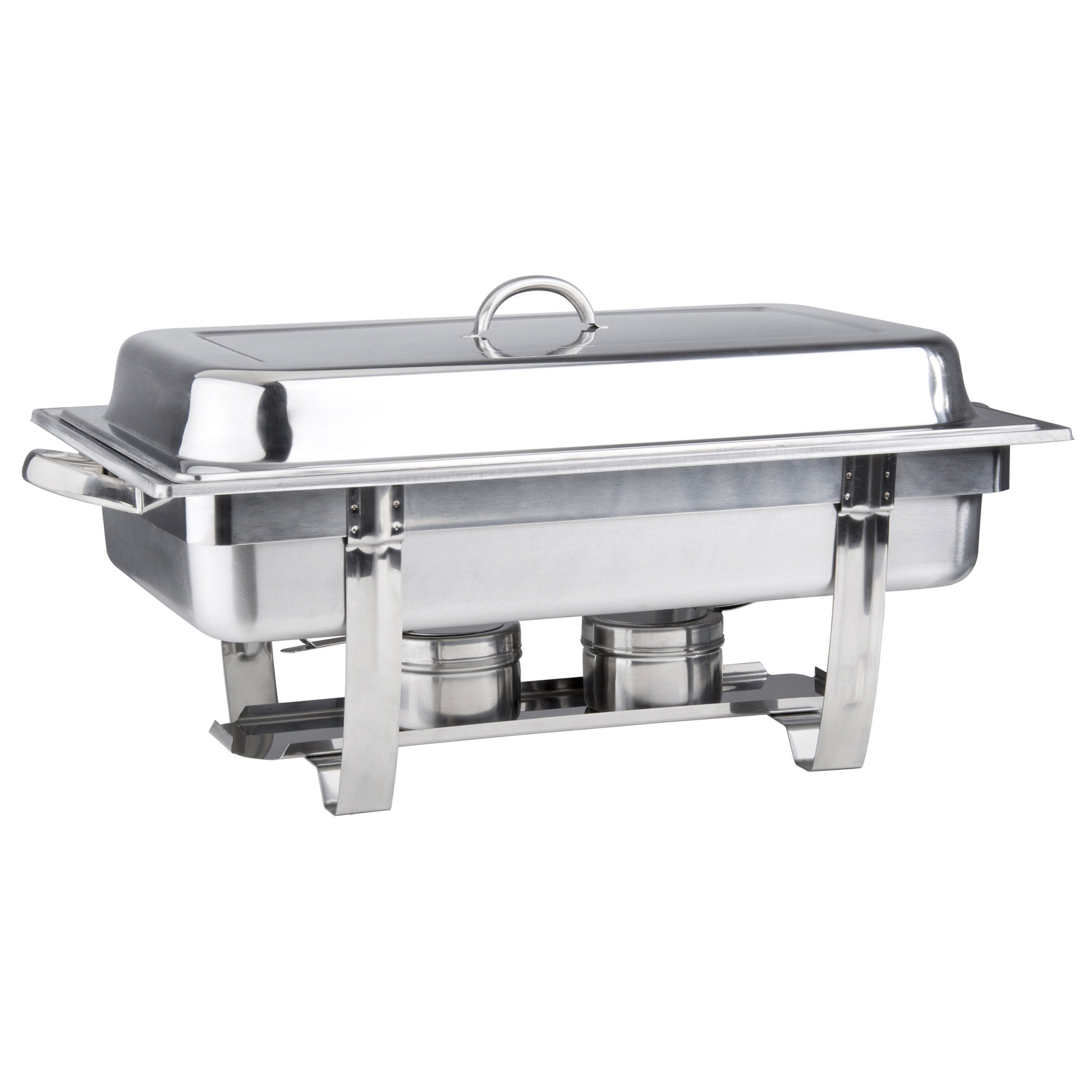8 Quart Stainless Steel Chafer, Stackable