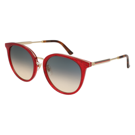 sunglasses gucci gg 0204 sk- 005 red / blue (Pig With Sunglasses)