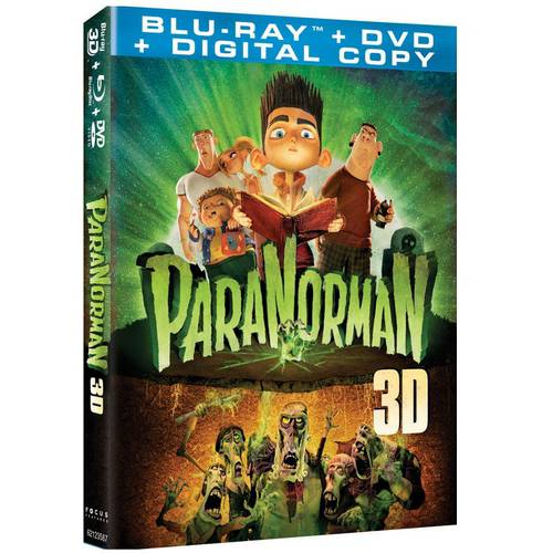 ParaNorman (Blu-ray 3D   DVD   Digital Copy) (With INSTAWATCH) (Widescreen)